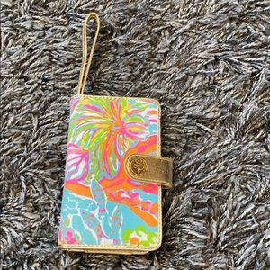 Lilly Pulitzer phone wallet